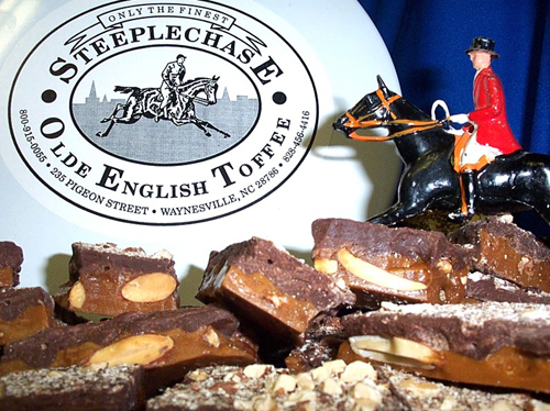 Steeplechase English Toffee leaps and bounds better than the competition.